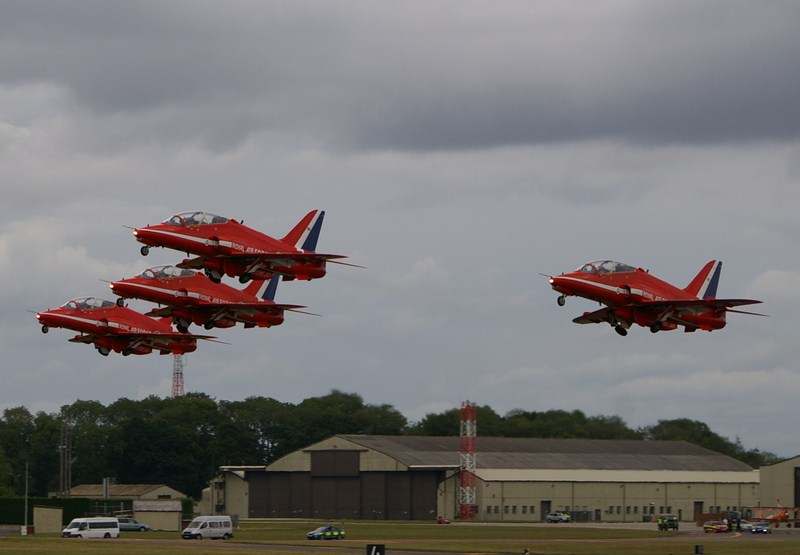 Start Red Arrows