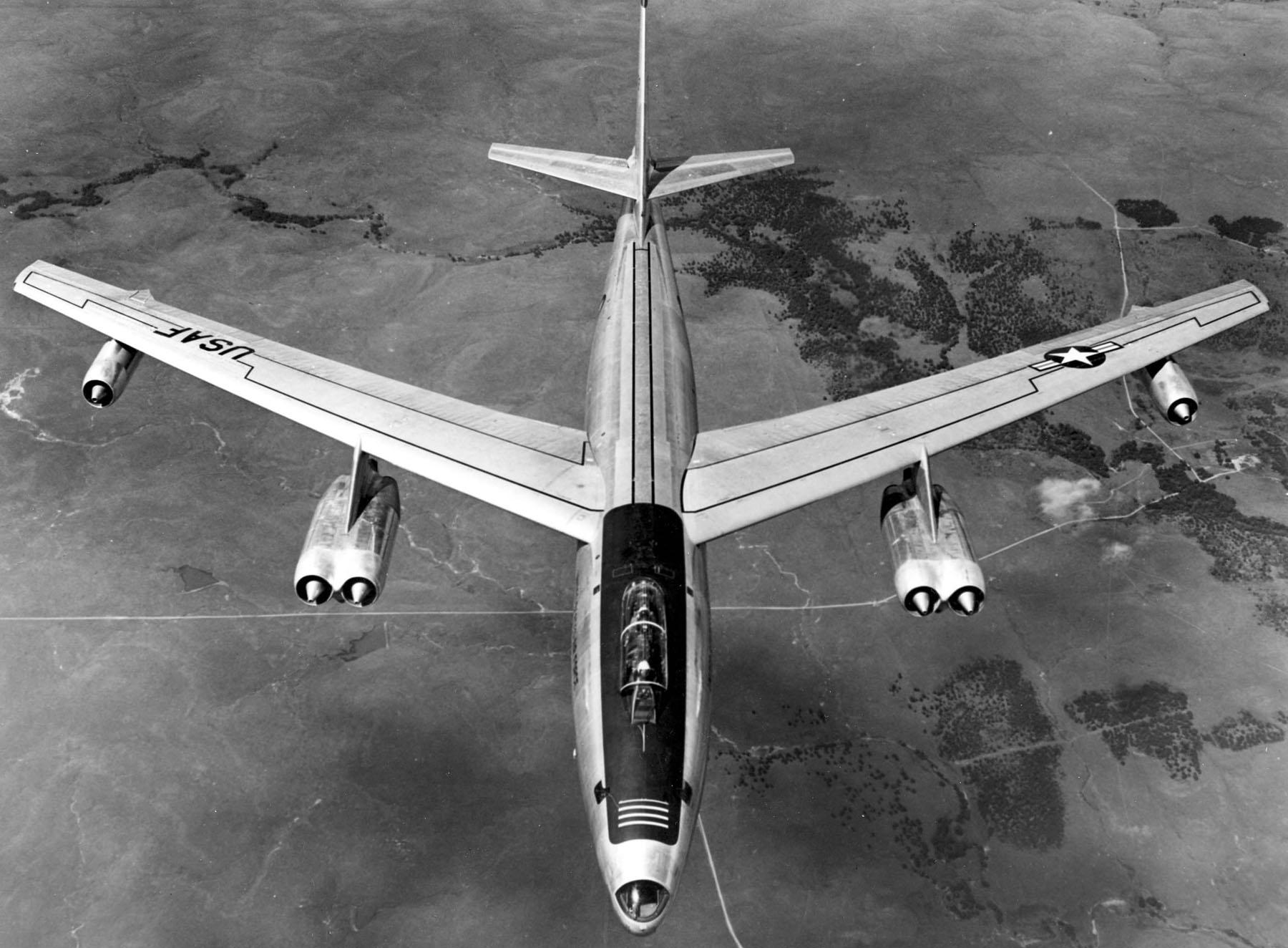 loty rozpoznawcze nad zsrr Boeing RB-47E Stratojet